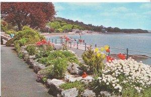 Cumbria Postcard - The Promenade Gardens - Grange over Sands    BH2450