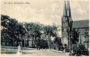 MA - Northampton. Elm Street