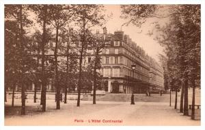 8293  France Paris  Hotel Continental, Grande Chambre, Salon des Fetes 3 views