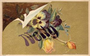 Nelly, Flowers, 1910-1920s
