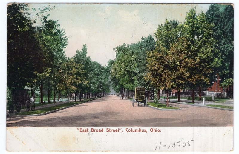 Columbus, Ohio, East Broad Street
