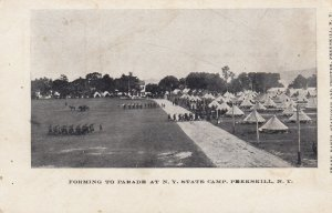 PEEKSKILL , New York , PMC 1898 ; Parade at N.Y. State Camp