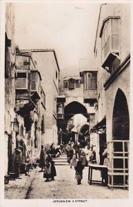 RP, A Street, Jerusalem, Palestine, 1920-1940s