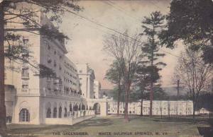West Virginia White Sulphur Springs The Greenbrier Artvue 1916