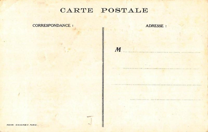 Theatre Advertising France signed Wary vintage postcard