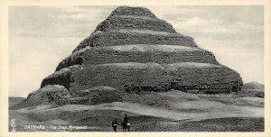 Vintage Egypt Postcard, Sakkara The Step Pyramid, Panoramic Bookmark Style BE2