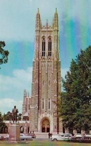 North Carolina Durham The Chapel Duke University 1969