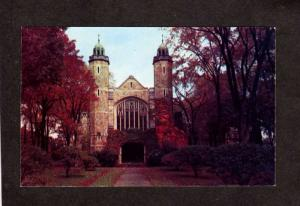 ME Bates College Chapel Church Lewiston Maine Postcard nr Auburn