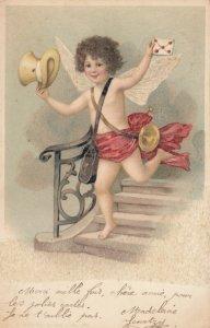 Cherub with Valentine's Day Card , 1901