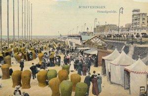 Scheveningen , Netherlands , 00-10s ; Strandgezicht