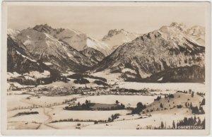 Vintage Postcard RPPC Oberstdorf City Bavaria Germany