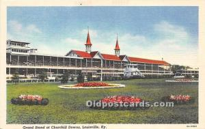 Grand Stand at Chuchill Downs Louisville, Kentucky, KY, USA Unused