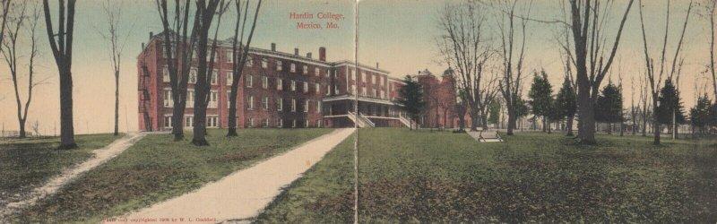 MEXICO , Missouri , 1912 ; Harden College ; Bifold