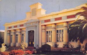 San Jose CA Rose-Croix University Science Building~Rosicrucian Park 1949 Chrome
