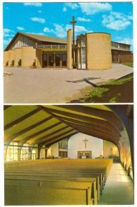 2-views,  St. Philip Neri Roman Catholic Church, Downsview, Ontario,  Canada,...