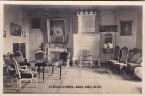 Switzerland Chateau D'Oron Salon Poele de 1747