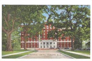 Presbyterian Hospital, Charlotte, North Carolina, 1930-1940s