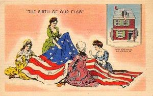 Birth of American Flag Philadelphia, Pennsylvania, USA Unused