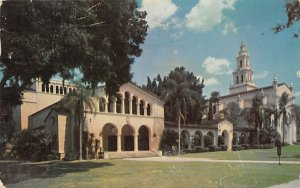 Rollins College Theatre with Knowles Memorial Chapel Winter Park, Florida Pos...