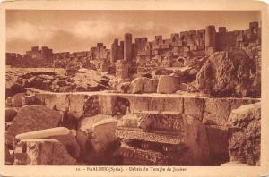 B94979 debris du temple de jupiter  baalbek syria   syrie