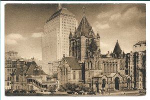 Boston, MA - Trinity Church - Historic Churches of America