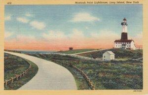 Montauk Point LIGHTHOUSE , L.I. , New York , 30-40s