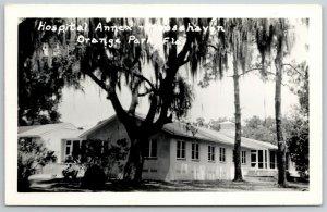 Orange Park Florida~Moose Haven Hospital Annex~c1950 Real Photo Postcard