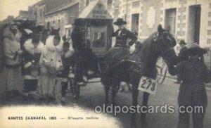 Nantes, France Carnaval 1925 Carnival Parade Unused