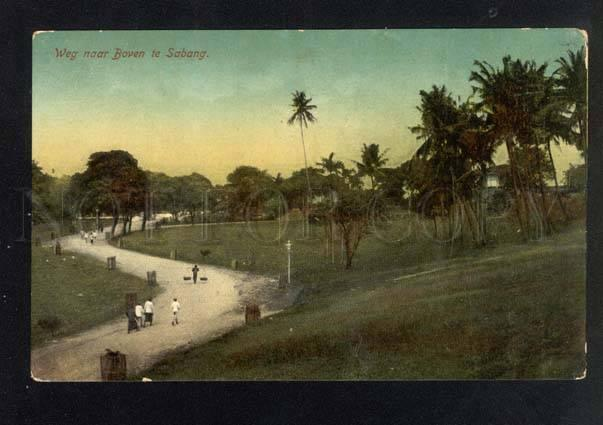 041041 INDONESIA HOLLAND INDIA SABANG view Vintage PC