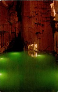 Mammoth Cave National Park KY Crystal Lake Postcard unused (21431)