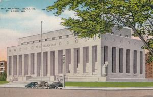 ST. LOUIS , Missouri , PU-1943 ; War Memorial Building