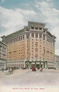 ST. PAUL, Minnesota, 1900-10s; The St. Paul Hotel