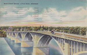Arkansas Little Rock Main Street Bridge 1945
