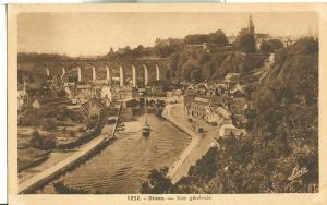France, Dinan, Vue generale, old unused Postcard CPA