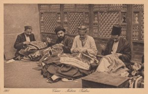 CAIRO , Egypt , 1900-1910´s ; Native Tailors