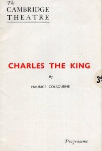 Charles The King Gwen Ffrangcon Davies Cambridge Theatre Programme