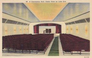 SANDUSKY, Ohio, 1930-40s; A Convention Hall, Cedar Point on Lake Erie