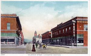 Calendar Street, Livingston, Montana