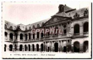 Postcard Modern Hotel Des Invalides Court D & # 39Honneur Paris