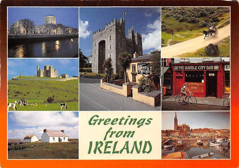 Greetings from Ireland, Leinster and Connacht The Marble City Bar Harbour