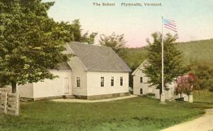 VT - Plymouth. The School