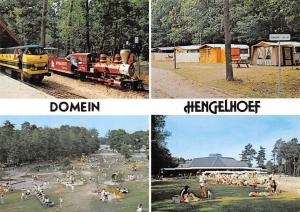 Belgium Domein Hengelhoef Camping Terrace Train