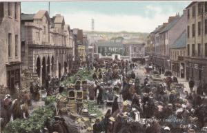 CORK , Ireland , 1900-10s ; Paddy's Market , Coal Quay