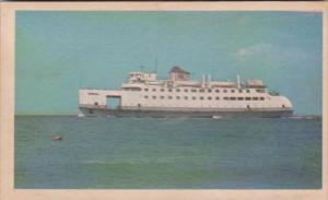 Steamer Ferry Nantucket Built Camden New Jersey 1957