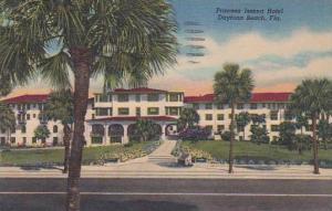 Florida Daytona Beach Princess Issena Hotel 1956