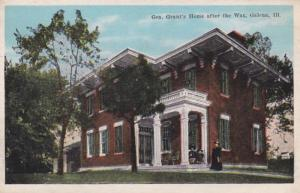 Illinois Galena General Grant's Home After The War