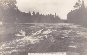 RP: Balsam Chute , MUSKOKA River , Ontario , Canada , 1920-30s