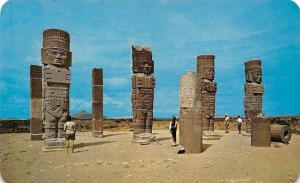 Mexico Zona Arqueologica de Tula Estado de Hidalgo, Toltec Civilization
