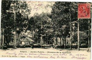 VIETNAM INDOCHINE - Saigon - Jardin Public - Kiosque de la Musique (190278)