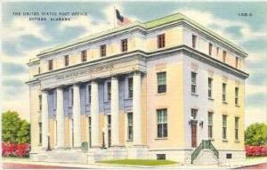 The United States Post Office, Dothan, Alabama, 1930-1940s
